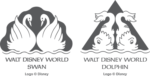 Swan and Dolphin