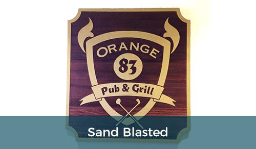 Sand Blasted