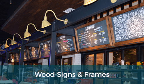 Custom Wood Signs & Frames