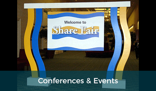 Conferences, Conventions & Events