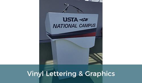 Vinyl Lettering & Graphics