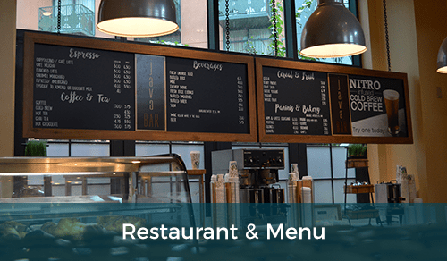Restaurants & Menus
