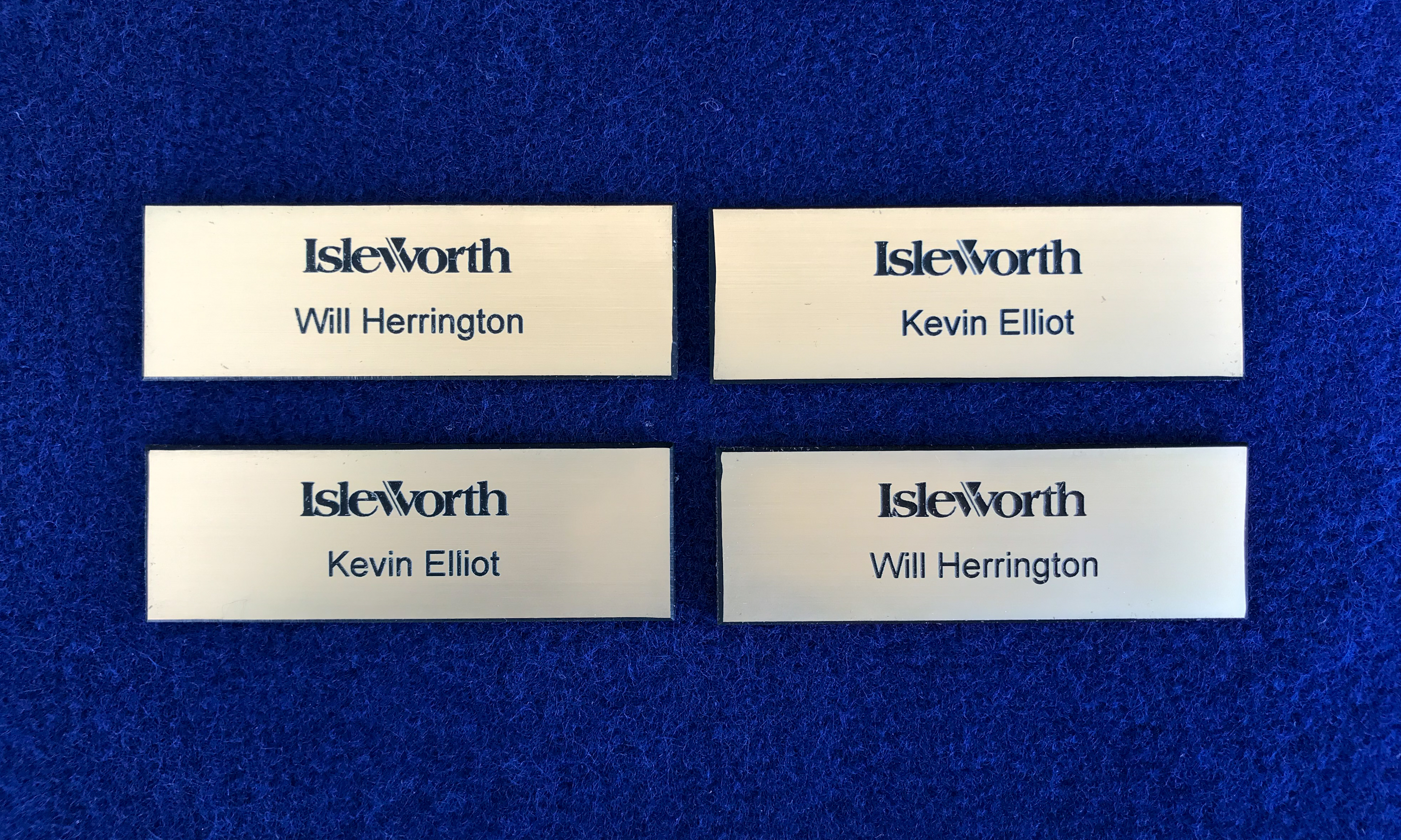 Name badge Islesworth