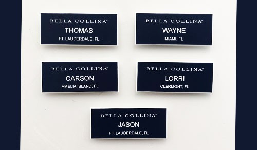 Nametags Bella Collina